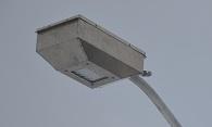 DX3 3000S Sub Arctic Unpainted Aluminum Solar Streetlight