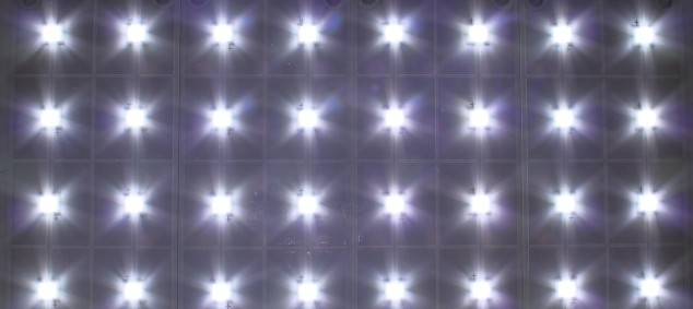 DX3-3000 LED solar panel lights